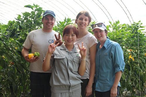 北京农业大学学生到公司来参观学习.JPG